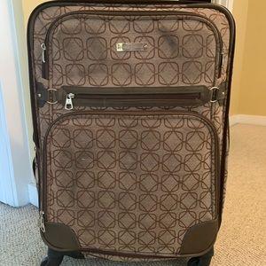 Nine West Large Luggage Suitcase